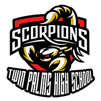 Twin Palms Continuation High School Logo